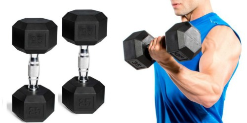 Up to 65% Off CAP Barbell Dumbells at Amazon + FREE Shipping