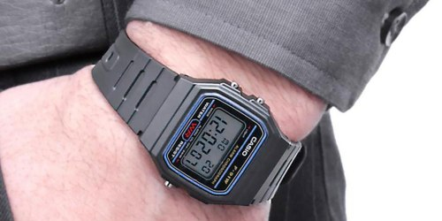 Casio Men's Classic Digital Watch Only $6.23