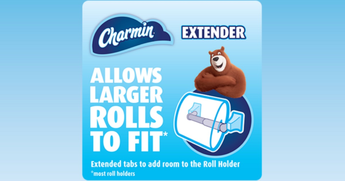 Free Charmin Toilet Paper Roll Extenders Hip2save