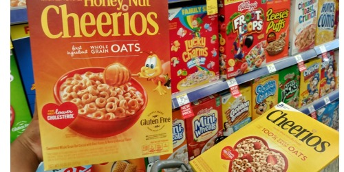 Walgreens Shoppers! Score Cheerios for 74¢ + More