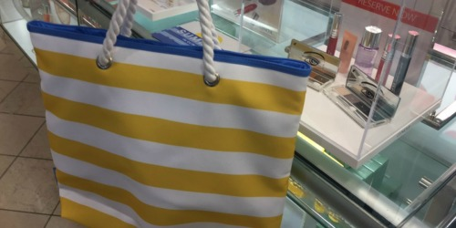Macy's: $110 Worth of Clinique Items Just $41 Shipped (This Tote Bag is Adorable!)