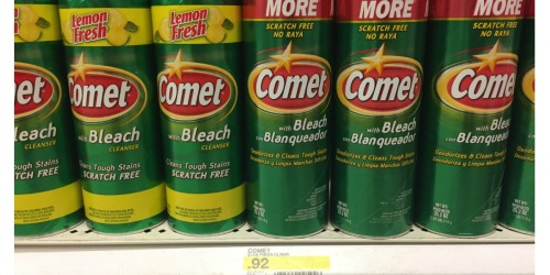 Target: Save Over 70% Off Comet Powder Cleansers