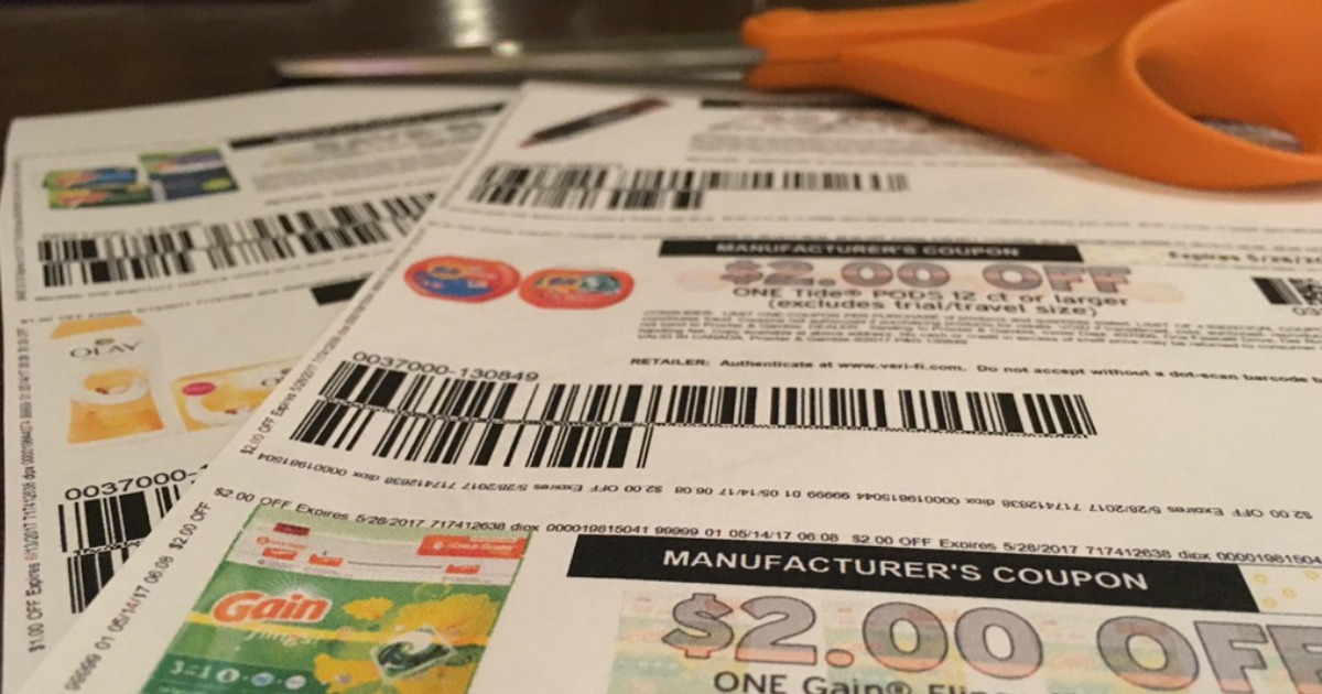 p & g makes it tougher to redeem printable coupons – coupons and scissors