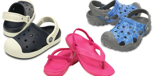 Crocs: 40% Off Sale Styles + Extra 10% = Kid's Classic Flip Flops Only $10.79 (Regularly $19.99) + More