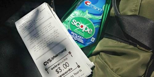 CVS: FREE Crest Scope Mouthwash After Rewards