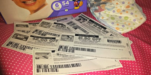 Top 6 Diaper Coupons to Print Now (Save on Pampers, Huggies & LUVS)