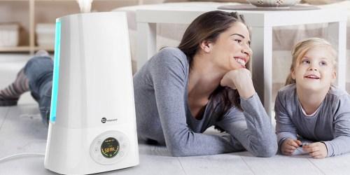 Amazon: Ultrasonic Cool Mist Humidifier Only $35.99 Shipped (Regularly $45.99+)
