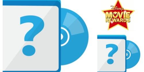 Disney Movie Rewards: Mystery Blu-Ray Movie Only 750 Points