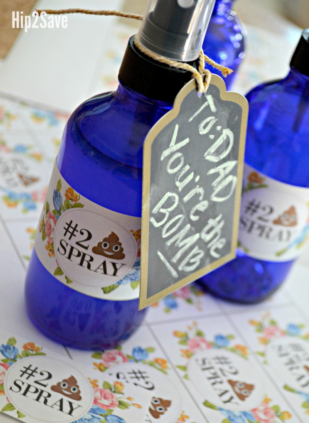 diy fathers day poop spray