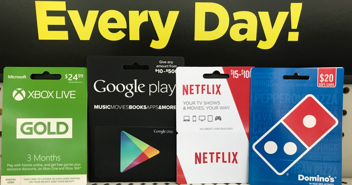 Dollar General 30 Worth Of Netflix Gift Cards Only 25 Savings