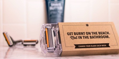 Got $1? Score Razor AND 4 Refill Cartridges from Dollar Shave Club Shipped to Your Door