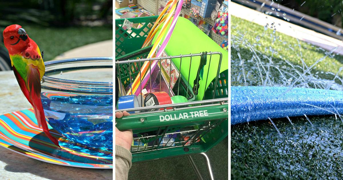 10 Kid's Summer Activities Using Dollar Tree Items