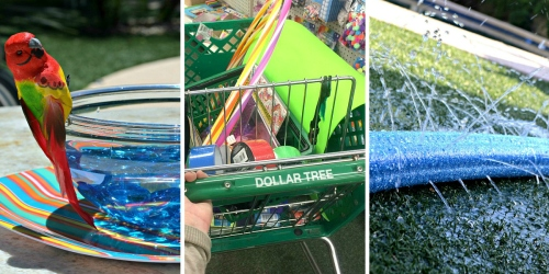 10 Kid's Summer Activities Using Dollar Tree Items