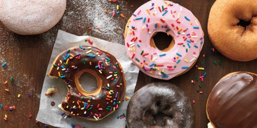 FREE Doughnuts at Dunkin' Donuts, Krispy Kreme & More (June 2nd Only)