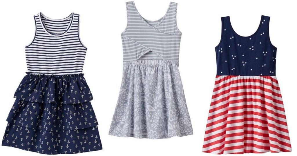 Kohl S Cardholders Girls Summer Dresses Only 7 Shipped Regularly