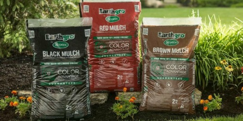 Home Depot: Scotts Earthgro Mulch Only $2.50 (Covers 2 Cubic Feet)