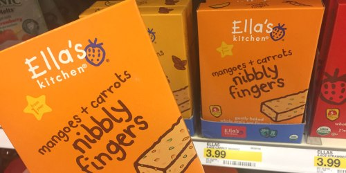 Target: Awesome Deals on Ella's Kitchen Crackers, Infant Food Pouches & More
