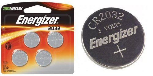 Amazon: Energizer Coin Battery 4-Pack $2.18 Shipped
