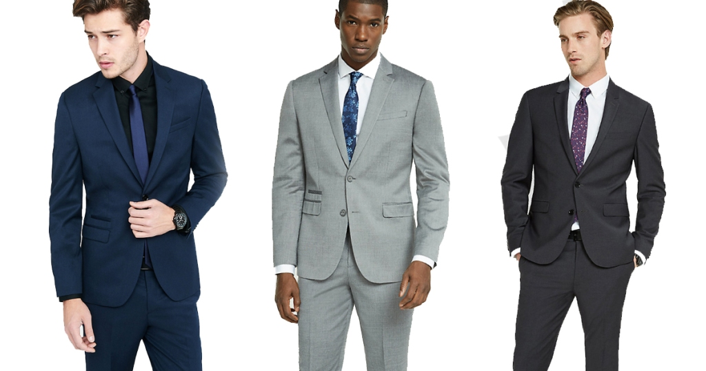 Express: Men's Suit Jacket AND Pants Only $135 Shipped