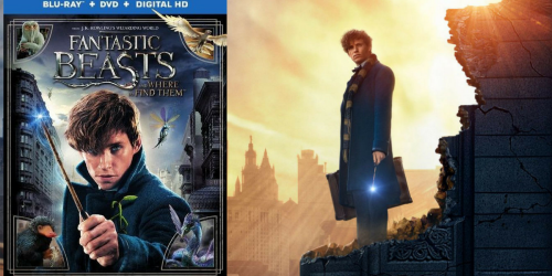 Amazon Prime: Fantastic Beasts and Where to Find Them Blu-ray + DVD + Digital HD $12.99 Shipped