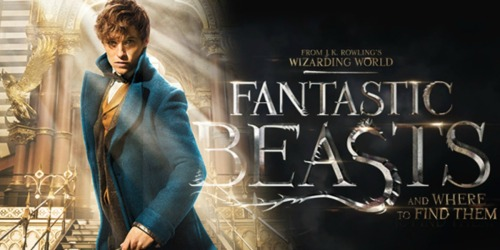 Fantastic Beasts and Where to Find Them Blu-ray/DVD Combo Only $12.99 (Regularly $24.99)