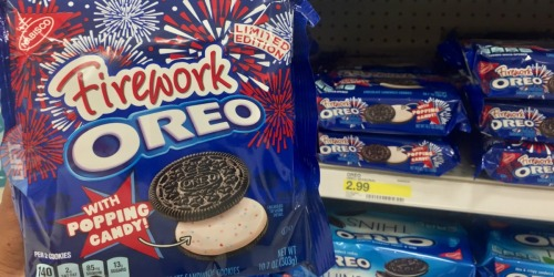 Have YOU Tried the NEW Oreo Firework Cookies?