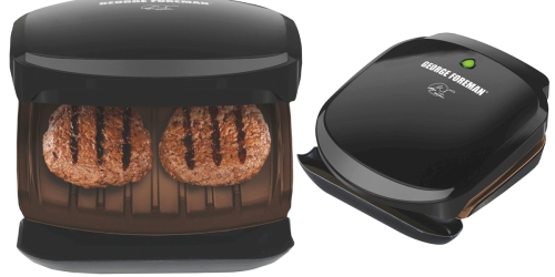 George Foreman 2-Serving Classic Grill Only $8.41