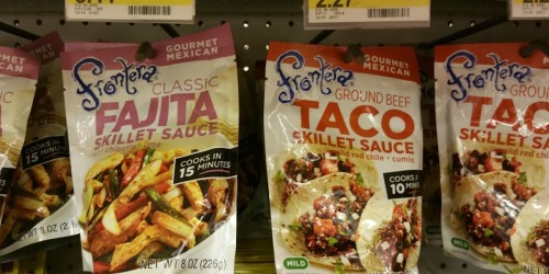 Target: Frontera Skillet Sauce Only 59¢ (No Coupons Needed) + More