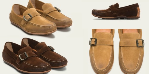 The Frye Company: Extra 25% Off Clearance = Men's Buckle Shoes Only $74 Shipped (Reg. $228)