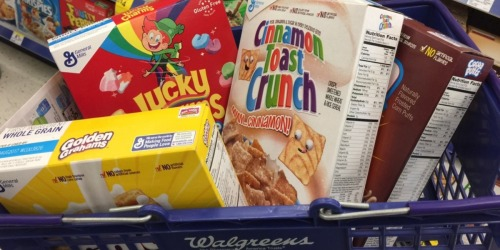 Walgreens: General Mills Cereal As Low As 99¢