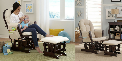 Amazon Prime: Glider and Ottoman Set Only $112.06 Shipped (Best Price)