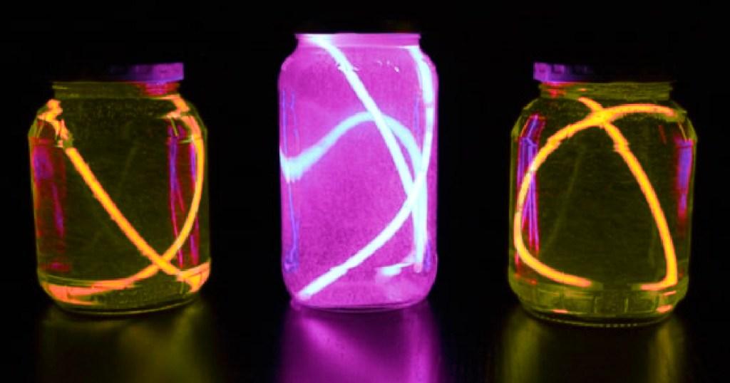 glow in the dark jar