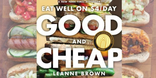 Amazon: Good and Cheap: Eat Well on $4/Day Kindle eBook Only $1.99