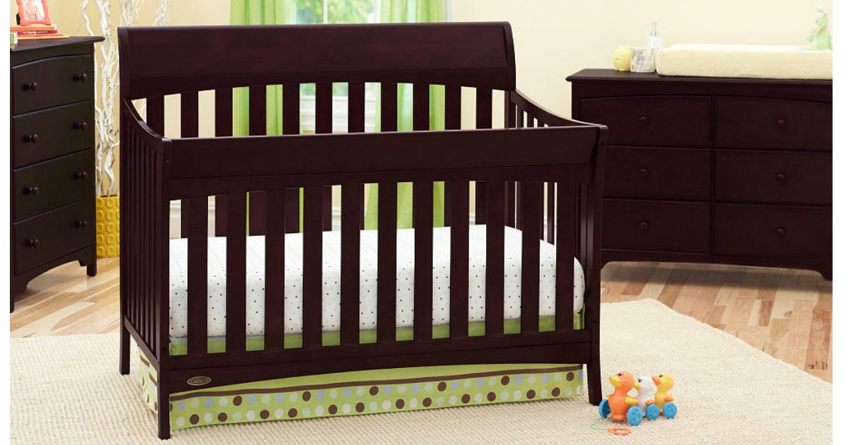 Go From Crib To Toddler Bed To Daybed To Full Size Bed!