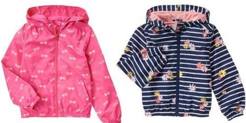 Gymboree Windbreakers as Low as ONLY $8.79 (Reg. $40) + FREE Shipping