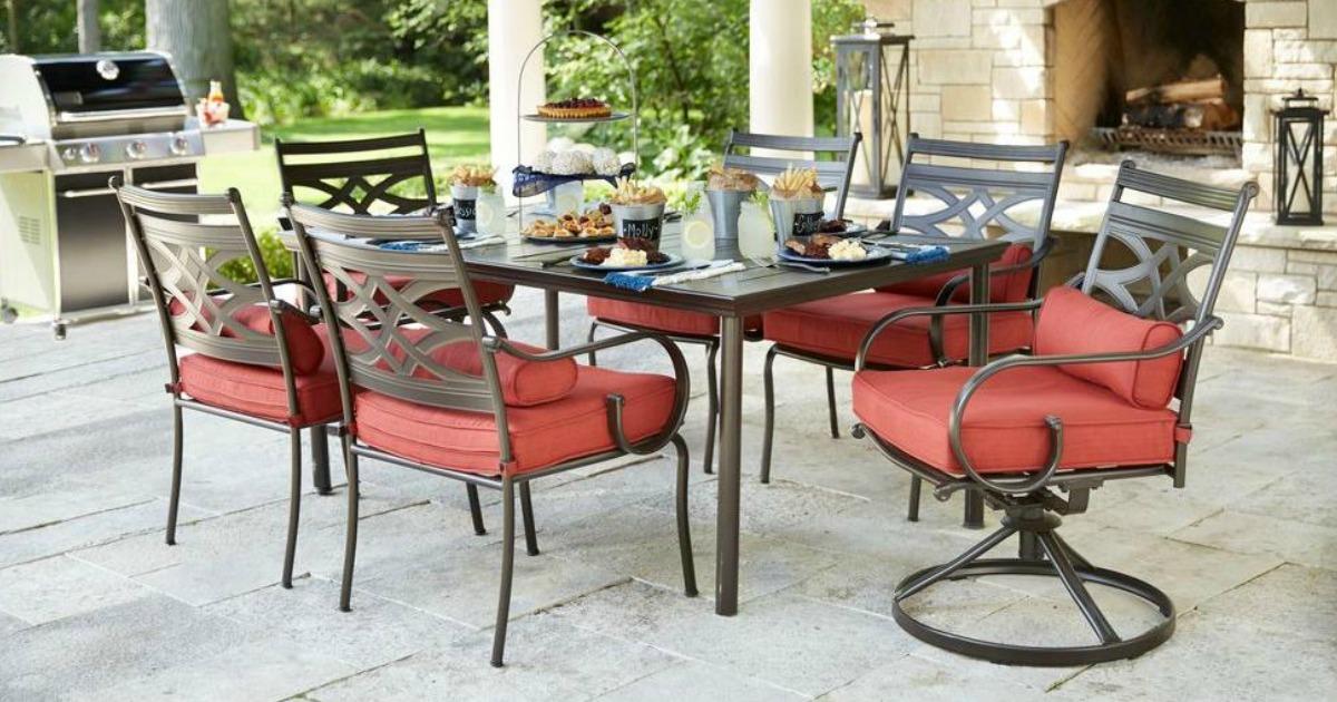 Home Depot: Hampton Bay 7-Piece Patio Dining Set Only $399