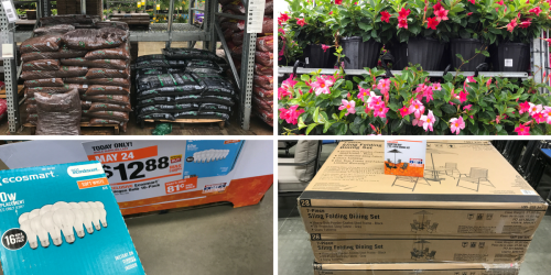 Home Depot Memorial Day Sale: HOT Deals On Mulch, Plants, Tools & MORE