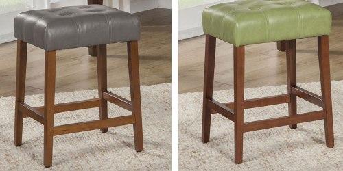 Kohls.com Furniture Sale = Tufted Stools Only $64.93 (Regularly $120) + Get $10 Kohl's Cash & More