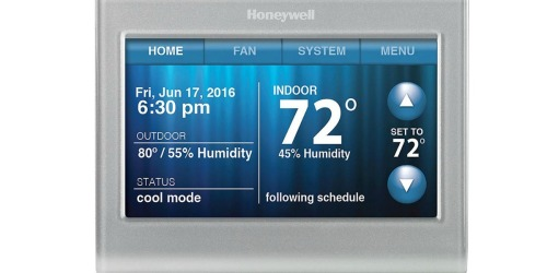 Honeywell Wi-Fi Touchscreen Thermostat Only $129 Shipped (Reg. $219) + Possible Rebate Offer