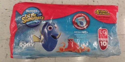 CVS Shoppers! Huggies Little Swimmers Jumbo Packs Only $6 & More
