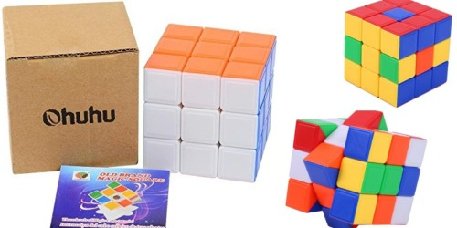 Amazon: TWO Ohuhu Stickerless Speed Cubes Only $4 Each (Or Just $4.95 for One)