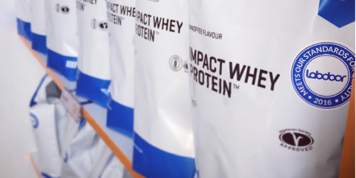 MyProtein.com: Impact Whey Protein 11 lb Bag Just $43.32 (Regularly $90) – New Customers