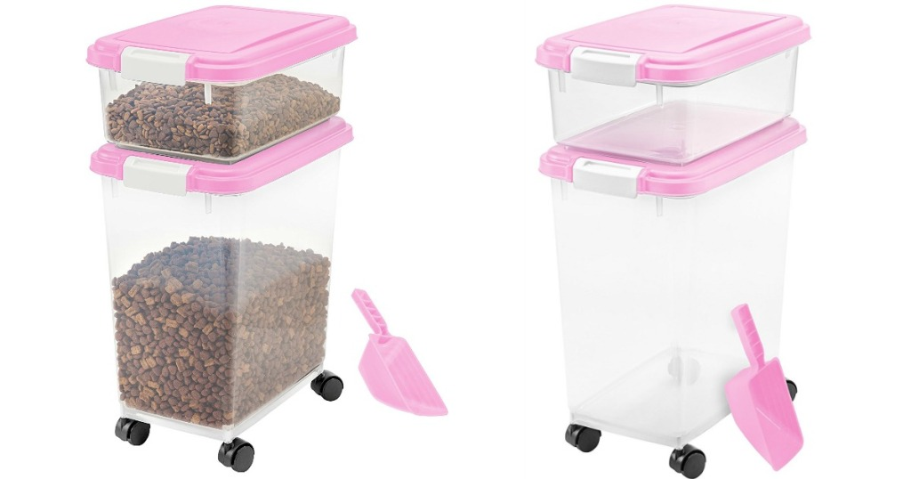 575f05cde811 Amazon: IRIS 3-Piece Airtight Pet Food Container Only $10.22 ...