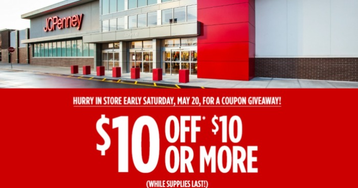 b40df6c1cad2 Get Ready! JCPenney  10 Off  10 Coupon Giveaway (Saturday