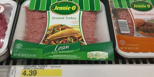 Target: FREE $5 Gift Card with $20 Meat or Seafood Purchase = *HOT* Buys on Jennie-O, Tyson & More