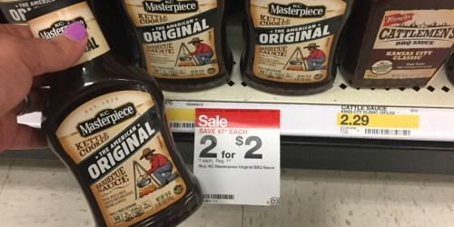 Target: KC Masterpiece BBQ Sauce Just $1 (No Coupons Needed!)
