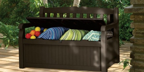 Amazon: 70-Gallon Outdoor Patio Storage Bench ONLY $68.99 Shipped (Regularly $101.99)