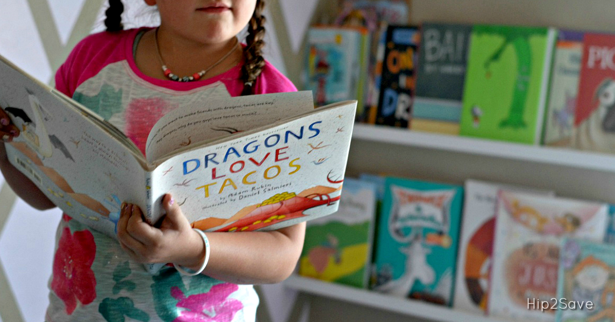 Kid Summer reading - Dragons love tacos book