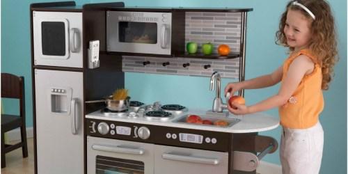 Walmart.com: KidKraft Uptown Kitchen w/ 30-Piece Play Food Set Only $111.18 (Regularly $149.88)