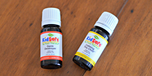 Plant Therapy KidSafe Germ Destroyer AND Calming The Child Essential Oils $11.95 Shipped